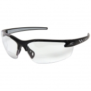 Edge DZ111-MAG-G2 Zorge Safety Glasses - Black Frame - Clear Bifocal Lens