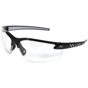 Edge DZ111VS-G2 Zorge G2 Safety Glasses - Black Frame - Clear Vapor Shield Anti-Fog Lens