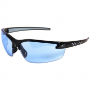 Edge DZ113VS-G2 Zorge G2 Safety Glasses - Black Frame - Light Blue Vapor Shield Anti-Fog Lens