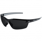 Edge DZ116-2.0-G2 Zorge G2 Safety Glasses - Black Frame - Smoke Bifocal Lens