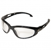 Edge SW111VS Dakura Safety Glasses - Black Frame - Clear Vapor Shield Anti-Fog Lens