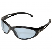 Edge SW113VS Dakura Safety Glasses - Black Frame - Light Blue Vapor Shield Anti-Fog Lens