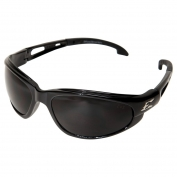 Edge SW116VS Dakura Safety Glasses - Black Frame - Smoke Vapor Shield Anti-Fog Lens
