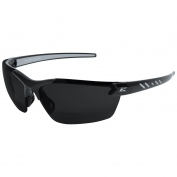 Edge TDZ216-2.0-G2 Zorge G2 Safety Glasses - Black Frame - Smoke Polarized Bifocal Lens