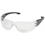 Elvex RX-401 Atom Safety Glasses - Gray Temples - Clear Bifocal Lens