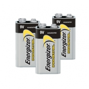 9V Batteries, Energizer Industrial - Case: 72