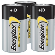 Energizer D Industrial Batteries - Case: 72