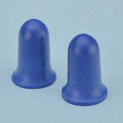 Elvex Blue Bell Shaped Standard Foam Ear Plugs