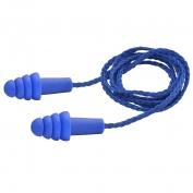 Elvex EP-411 QUATTRO Reusable Corded Ear Plugs - NRR 27