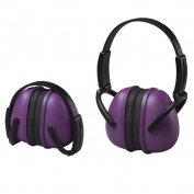ERB 239 Foldable Ear Muffs - Purple