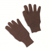 ERB 14430 Brown 100% Cotton Jersey Work Gloves