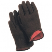 ERB 14470 Lined Brown Jersey Work Gloves