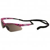 ERB 15342 Octane Safety Glasses - Pink Camo Frame - Gray Lens