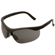 ERBx Safety Glasses - Black Frame - Smoke Bifocal Lens