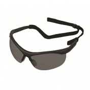 ERB X Safety Glasses - Black Frame - Smoke Bifocal 1.5 Lens