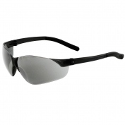 ERB 17065 Inhibitor NXT Safety Glasses - Black Frame - Silver Mirror Lens