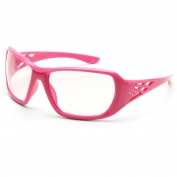 ERB Rose Safety Glasses - Pink Frame - Clear Lens