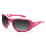 ERB Rose Safety Glasses - Pink Frame - Smoke Lens