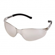 ERB Inhibitor Safety Glasses - Clear Frame - Indoor/Outdoor Anti-Fog Mirror Lens