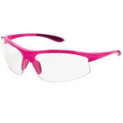 ERB Ella Safety Glasses - Pink Frame - Clear Anti-Fog Lens