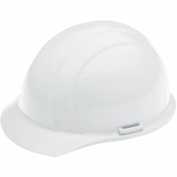 ERB 19321 Liberty Hard Hat - 4-Point Ratchet Suspension - White