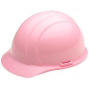 ERB 19375 Americana Hard Hat - 4-Point Pinlock Suspension - Pink