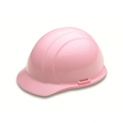 ERB 19775 Americana Hard Hat - 4-Point Ratchet Suspension - Pink