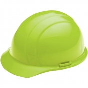 ERB 19820 Liberty Hard Hat - 4-Point Pinlock Suspension - Hi-Viz Lime