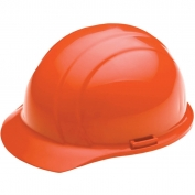 ERB 19823 Liberty Hard Hat - 4-Point Pinlock Suspension - Orange
