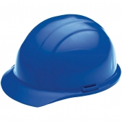 ERB 19826 Liberty Hard Hat - 4-Point Pinlock Suspension - Blue