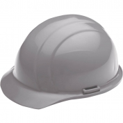 ERB 19827 Liberty Hard Hat - 4-Point Pinlock Suspension - Grey
