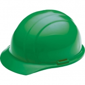 ERB 19828 Liberty Hard Hat - 4-Point Pinlock Suspension - Green