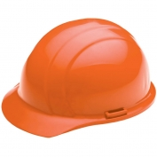ERB 19835 Liberty Hard Hat - 4-Point Pinlock Suspension - Hi-Viz Orange