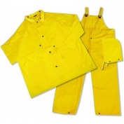 ERB 4025 PVC 3-Piece .25mm Rain Suit - Yellow