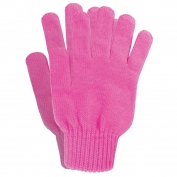 ERB Warm Knit Gloves - Hi-Viz Pink