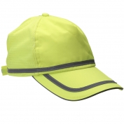 ERB S108 Reflective Ball Cap - Yellow/Lime