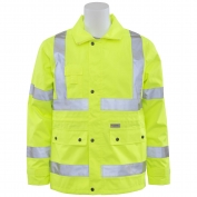 ERB S371 Class 3 Rain Jacket - Yellow/Lime