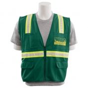 ERB S813 Non-ANSI Surveyor CERT Safety Vest - Green