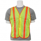 ERB S903 Non-ANSI Mesh Two-Tone Safety Vest - Yellow/Lime