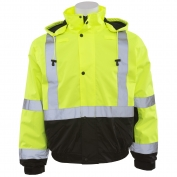 ERB W106 Class 2 Black Bottom Safety Jacket - Yellow/Black