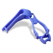 Ergodyne Squids 3405 Glove Grabber with Belt Clip - Blue