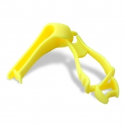 Ergodyne Squids 3405 Glove Grabber with Belt Clip - Yellow/Lime