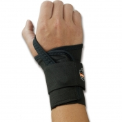 Ergodyne ProFlex 4000 Single Strap Wrist Support - Right Hand - Black