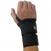 Ergodyne ProFlex 4010 Double Strap Wrist Support - Right Hand - Black