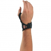 Ergodyne ProFlex 4020 Lightweight Wrist Support - Right Hand - Black