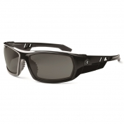 Ergodyne Odin 50031 Safety Glasses - Black Frame - Smoke Polarized Lens