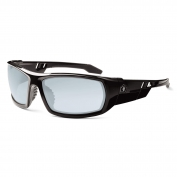 Ergodyne Odin 50083 Safety Glasses - Black Frame - Indoor/Outdoor Anti-Fog Lens