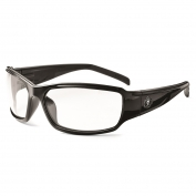 Ergodyne Thor 51003 Safety Glasses - Black Frame - Clear Fog-Off Anti-Fog Lens