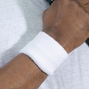 Ergodyne Chill-Its 6500 Wrist Sweatband - White