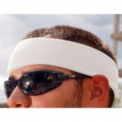 Ergodyne Chill-Its 6550 Head Sweatband - White